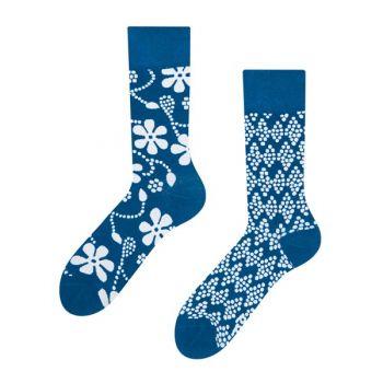 Good Mood Bamboe Sokken Blauwdruk
