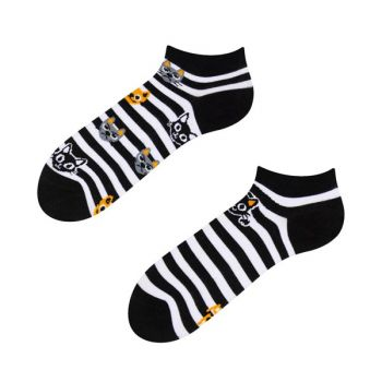 Good Mood Sneaker Sokken Katten & Strepen