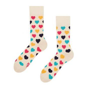 Good Mood Sokken Kleurrijke Hartjes