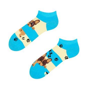 Good Mood Sneaker Sokken Hondjes & Strepen