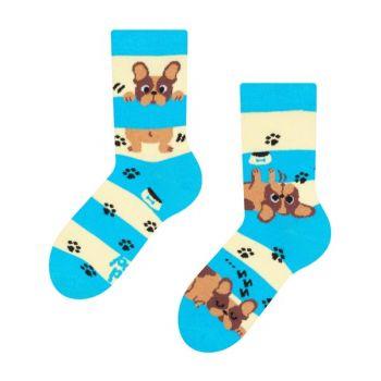 Good Mood Kinder Sokken Hondjes en Strepen