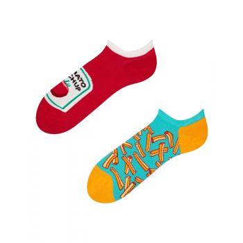 Good Mood Sneaker Sokken Frietjes met Ketchup