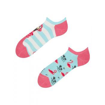 Good Mood Sneaker Sokken Verstrikte Flamingo