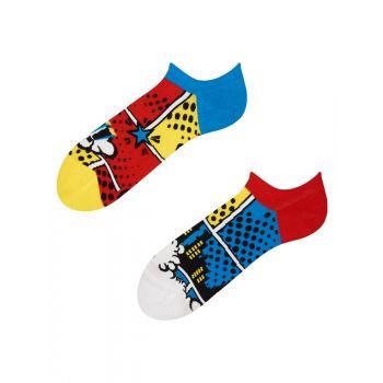Good Mood Sneaker Sokken Kleurrijke Strips