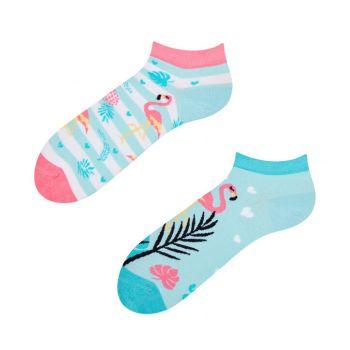 Good Mood Sneaker Sokken Love Flamingo's