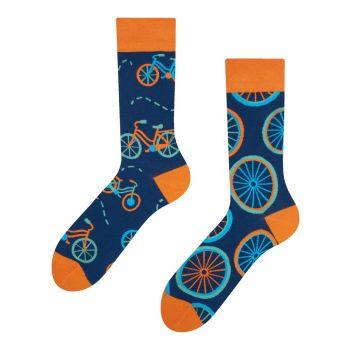 Good Mood Sokken Oranje Fiets