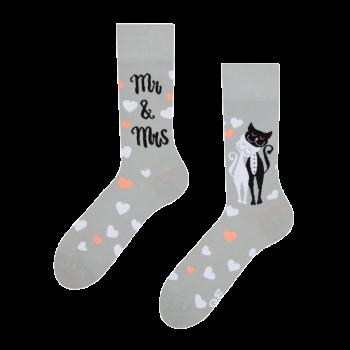 Good Mood Sokken Trouwende Katten
