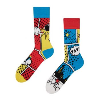 Good Mood Sokken Kleurrijke Strips