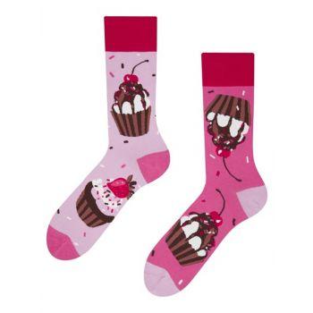 Good Mood Sokken Roze Cupcakes