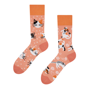 Good Mood Sokken Speelse Katten